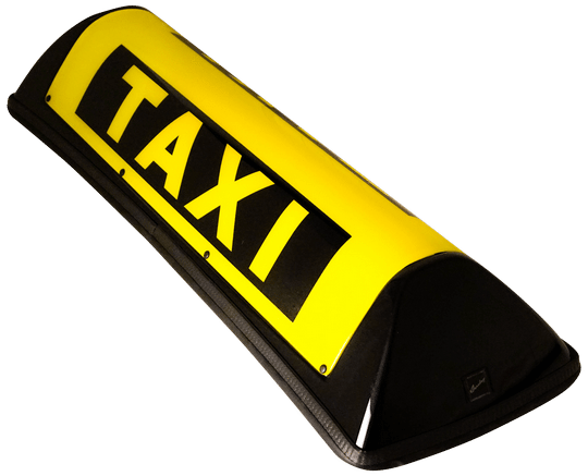 Barclay Taxi Dachzeichen Dachschild Dachzeichen