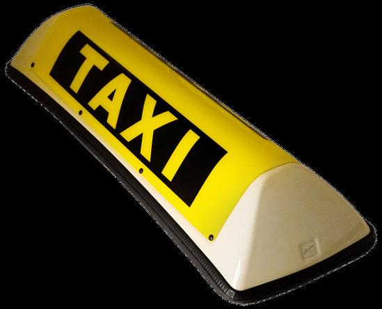Barclay In Between Taxi Dachzeichen hellelfenbein